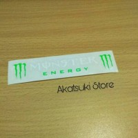 Sticker / stiker Visor Helm rossi Monster Energy