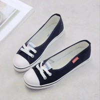 Flat Shoes Converse wanita / slip on / sneakers / kets / casual murah