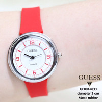 JAM TANGAN GUESS MONOL RUBBER FASHION WATCH SUPPLIER JAM WANITA PRIA