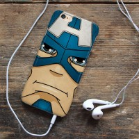 Captain Amerika Face iphone case iphone 6 7 case 5s oppo f1s redmi s6