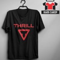 Kaos Logo Sepeda THRILL Murah Keren