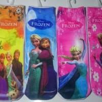 Kaos Kaki Printing Karakter Frozen