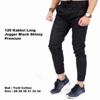 NEW celana jogger pria hitam | celana jeans jogger | celana panjang jo