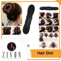 Hairdini Hair Dini Spon Cepol Kuncir Gulung Rambut Ikat Donat YZF73