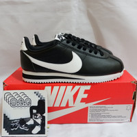 Nike Classic Cortez Black White Leather BNIB Original no huarache wrap