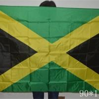 Bendera Nasional Negara Jamaica Jamaika Flag