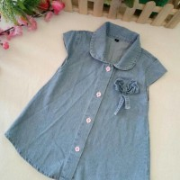 Dress Tunik Anak Soft Jeans Premium