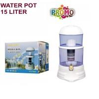 Mineral water pot 15 liter Bio Energy PURIFIER 16 L seperti PURE IT
