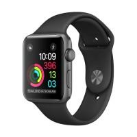 Apple MP032 Watch Series 1 Aluminium Sport Smartwatch - Black [42mm]
