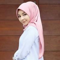 Jilbab Segiempat Satin Velvet ukuran 150x150