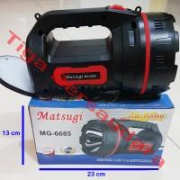 Senter Matsugi MG-6685 (Senter LED+Lampu Meja)
