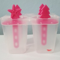 Cetakan Lolipop/ Es Krim / Puding/ Ice Mold 1set 4pcs #MD005