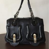 Tas Fendi B Bag Textured leather