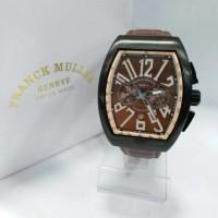 Jual jam tangan pria frank muller vanguard rose cronograph super premium  Murah