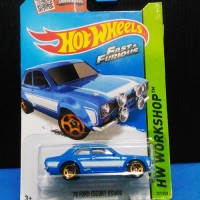 Hotwheels hot wheels 70 Ford Escort RS1600 RS 16000 Fast And Furious 6