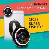 Jual Polaroid Superl Fish Eye Lens CF238 Hitam - Lensa Handphone DealHarga Murah