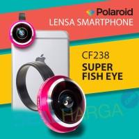 Jual Polaroid Superl Fish Eye Lens CF238 Pink - Lensa Handphone DealHarga Murah