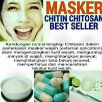 BISA GOJEK Masker Chitosan Tiens 25 Kapsul | Ampuh Mencerahkan Wajah