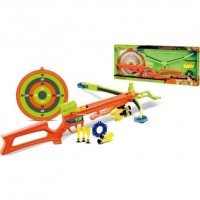 Mainan Panah Panahan Kingsport Real Shooting Crossbow Set 66 cm
