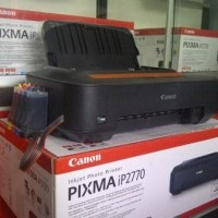 PRINTER CANON IP2770 + INFUS MODIFIKASI