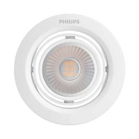 Philips Recessed spot light 59776 White LED Pomeron 7 Watt