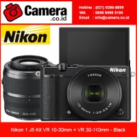 Nikon 1 J5 with 10-30mm + 30-110mm - Black/ Kamera Mirrorless