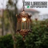 Lampu Gantung Taman - Seri 02