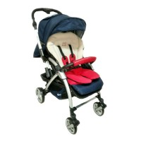 Cocolatte Q6 Amber Delly Belly Red / Stroller / Kereta Bayi
