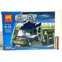 Lego SWAT Prison Car LELE 79195 B KODE SS6738