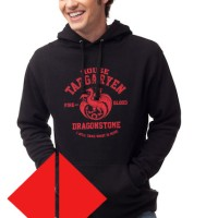 Hoodie House Targaryen Game Of Thrones - Fire And Blood