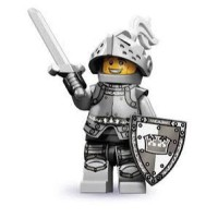 LEGO S9 Minifigures No. 4 - Heroic Knight