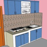 kitchen Set Minimalis terjangkau/Multiplex /HpL