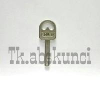 Bahan Kunci Gembok Abloy (Keyblank)