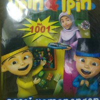 VCD ORIGINAL FILM EDUKASI ANAK UPIN & IPIN . 2in1 BUY 1 GET1