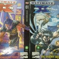 Jual Komik ultimate x men bahasa indonesia SET NOT wolverine spiderman shf Murah