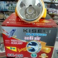 Headlamp/Senter Kepala KISEKI PLatinum CK-198 Waterprof Termurah.