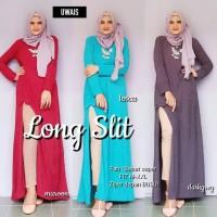 Baju Setelan Wanita Atasan Celana Long slit