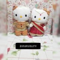 Jual Boneka Hello Kitty Wedding Series India Murah