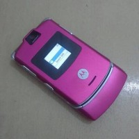 HP Motorola Razr Pink V3 Normal Batangan
