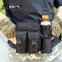 Jual Tas Pinggang Tactical Botol Minum Army-Eye Catching-Berkualitas Murah