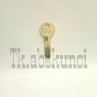 Bahan Kunci Gembok Globe kecil (Keyblank)