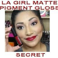 Jual sale promo la girl matte pigment gloss warna secret Murah
