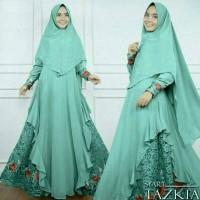 Jual asd setelan st hijab muslim syari Tazkia premium TOSCA / baju wanita Murah