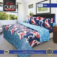 Bedcover Set (King 180x200) My Love Ukuran King Set motif KOIPremium