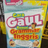 cara gaul kuasai grammar bahasa inggris - Yusup P - S