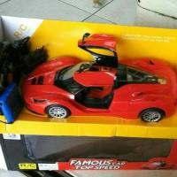 Mainan Mobil Remot Control Ferrari Skala 1:14 Famous Car