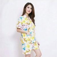 Bc Pajamas Pooh Friends Katun Cotton Piyama Baju Tidur Sleepwear