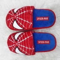 sandal bulu spiderman