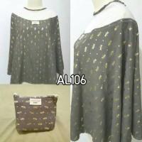 cottonwood junior apron menyusui motif capung