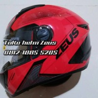 harga Helm Zeus Z811 Al6 Dred Black / Full Face Tokopedia.com
